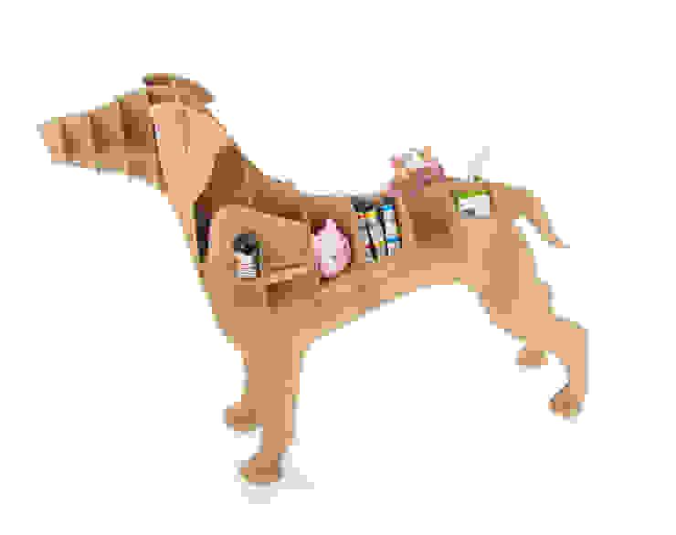 """Perro de Cartón """"Labrador de Milimetrado Moderno"""