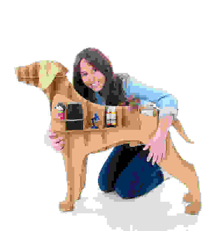 Perro de Cartón 'Labrador de Milimetrado Moderno