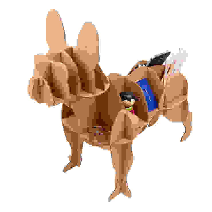 """Perro de Cartón """"Bulldog Francés"""" de Milimetrado Moderno"""