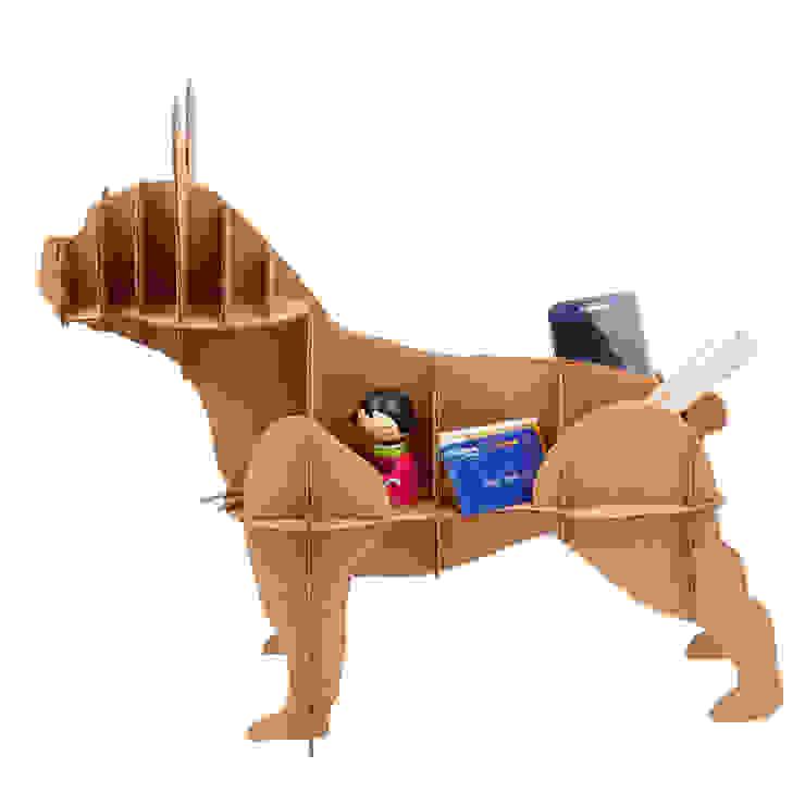 Perro de Cartón <q>Bulldog Francés</q> de Milimetrado Moderno