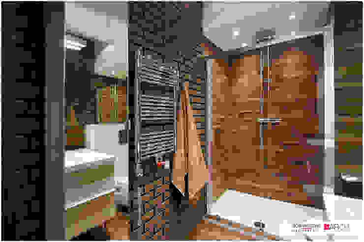 LOFT z widokiem Industrialna łazienka od Borowczyk Architekci Industrialny
