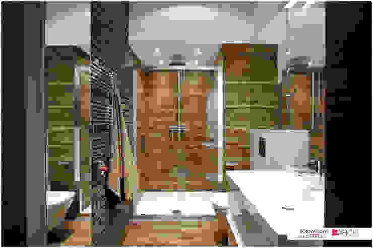 LOFT z widokiem: styl , w kategorii Łazienka zaprojektowany przez Borowczyk Architekci,Industrialny