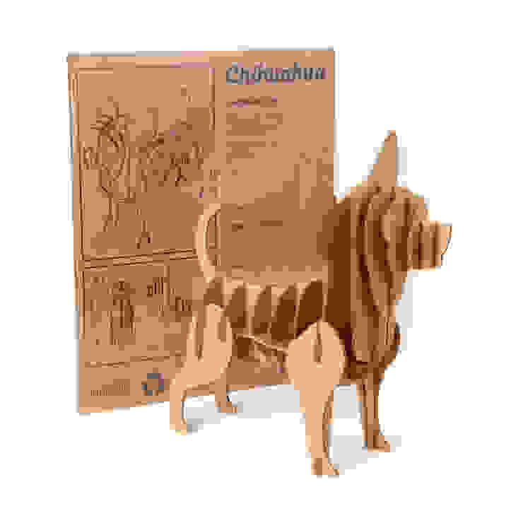 Perro de Cartón <q>Chihuahua</q> de Milimetrado Moderno
