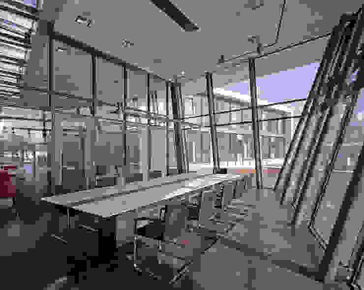 Modern office buildings by Architekturbüro Müller+Huber Modern