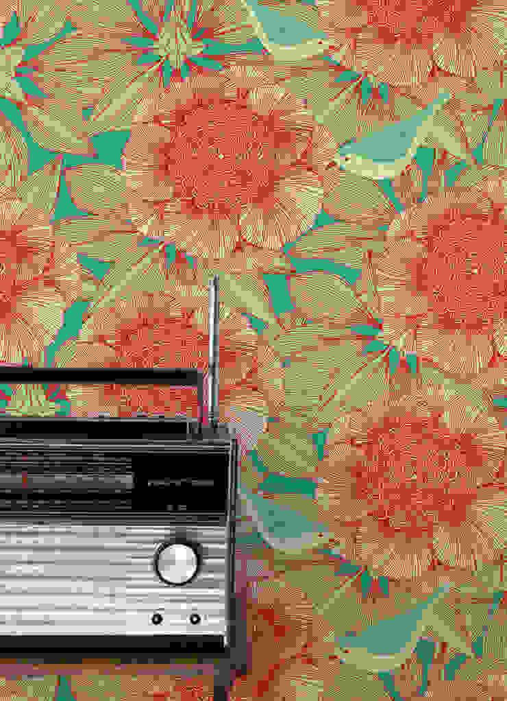Victoria, Wallpaper : modern  by Camilla Meijer, Modern