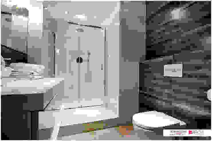 DVUPAK – loft VIVID Minimalistyczna łazienka od Borowczyk Architekci Minimalistyczny