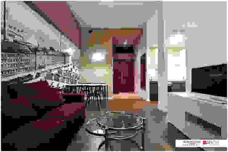 DVUPAK - loft MOODY Nowoczesny salon od Borowczyk Architekci Nowoczesny