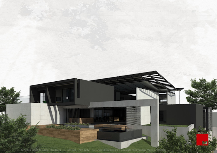 House Alj Modern houses by Nico Van Der Meulen Architects Modern