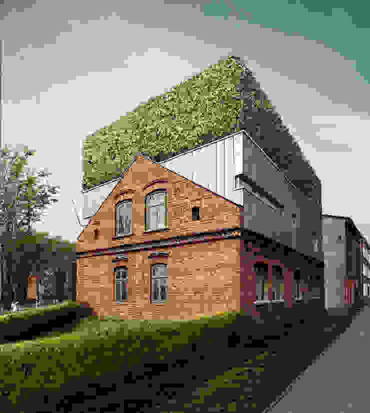 URBAN SANDWICH Nowoczesne domy od Zalewski Architecture Group Nowoczesny