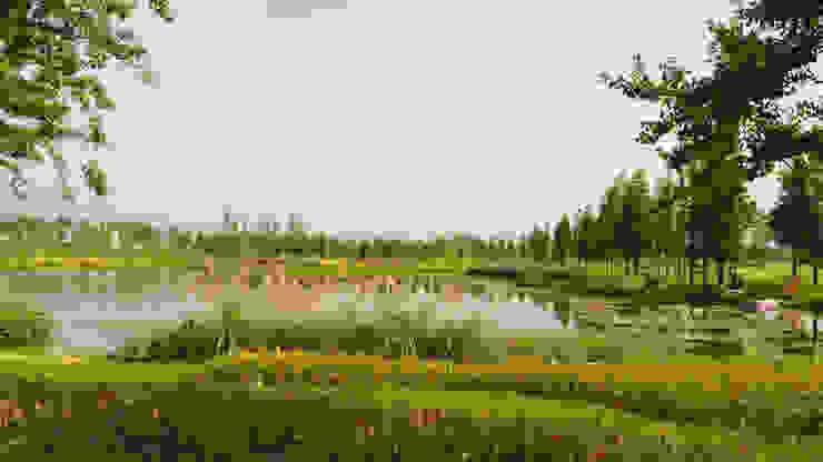 Kleiner See im Ostteil © Jan Siefke, Shanghai Valentien + Valentien Landschaftsarchitekten Stadtplaner Moderne Veranstaltungsorte
