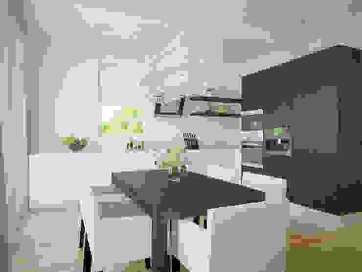 Кухня Кухня в стиле модерн от Универсальная история Модерн