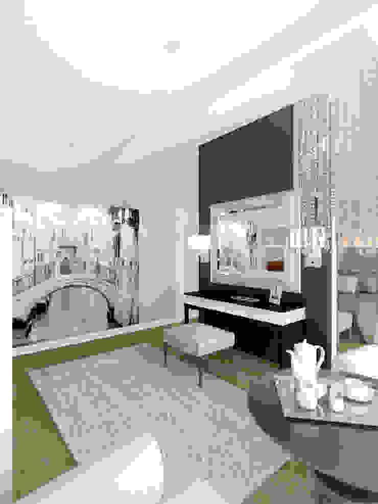 Спальня 2 этаж Спальня в стиле модерн от Универсальная история Модерн