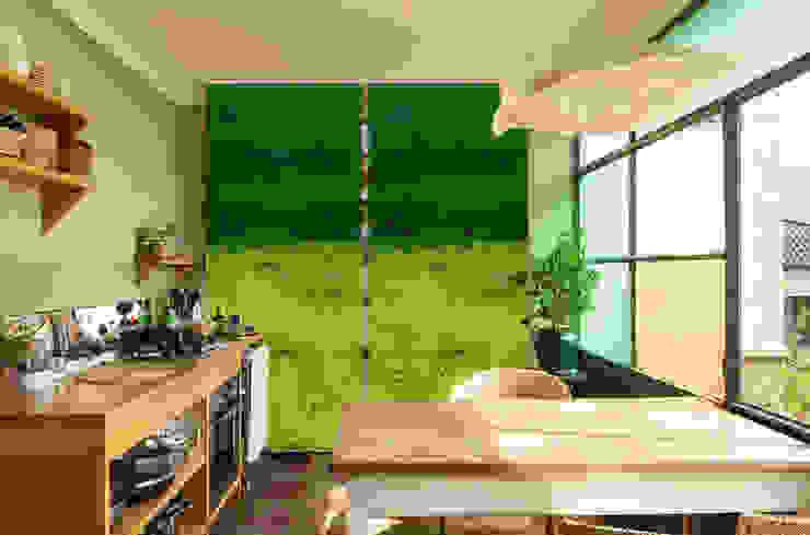 Design Schiebegardinen | Schiebevorhänge | textile Raumtrenner: modern  von Bilderwelten,Modern