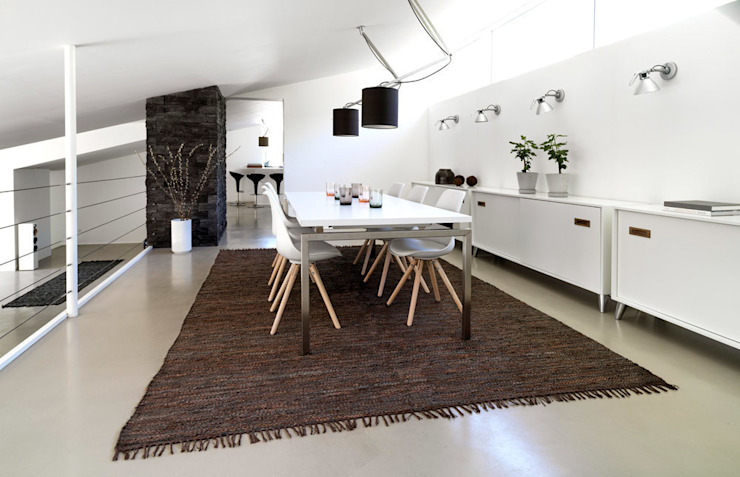 Rugs bring warmth Love4Home Dining roomAccessories & decoration