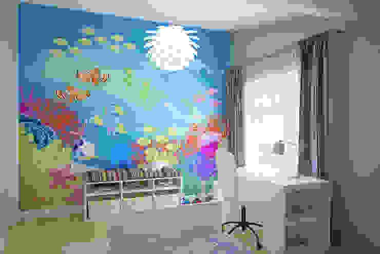 Детская комната 2 этаж Детская комната в стиле модерн от Универсальная история Модерн