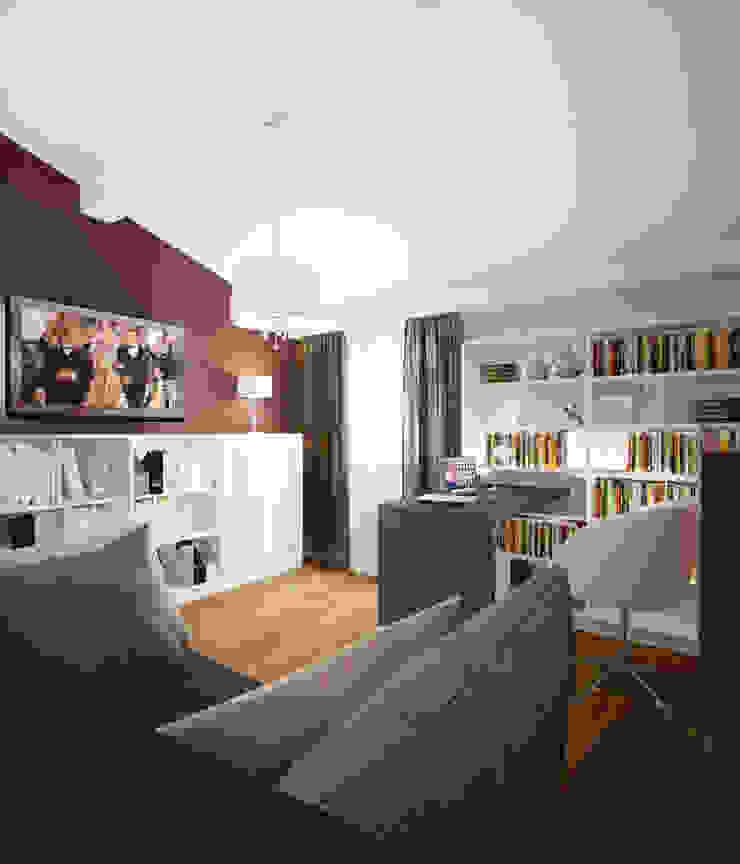 Кабинет 2 этаж Рабочий кабинет в стиле модерн от Универсальная история Модерн
