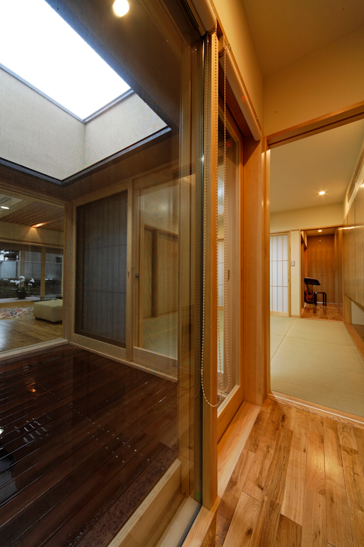 M邸 オリジナルな 庭 の 長谷雄聖建築設計事務所 オリジナル