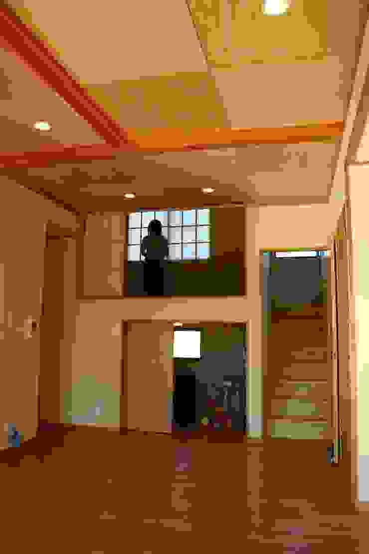 . 和風の 玄関&廊下&階段 の さんさい工房一級建築士事務所 和風