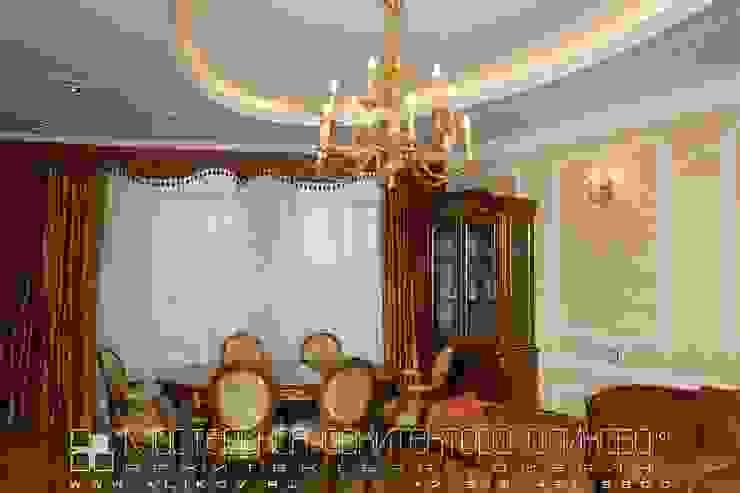 Гостиная Мастерская архитектора Аликова Гостиная в классическом стиле