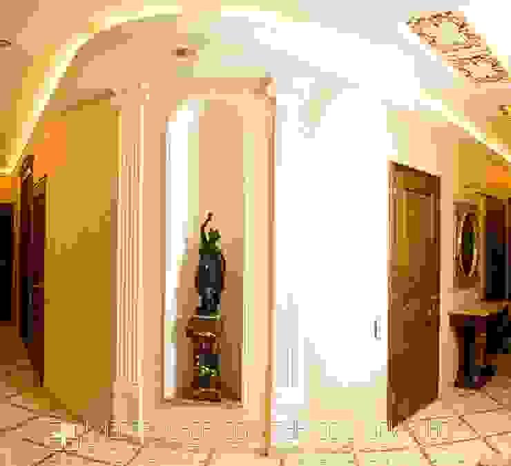 Холл в классическом стиле Коридор, прихожая и лестница в классическом стиле от Мастерская архитектора Аликова Классический