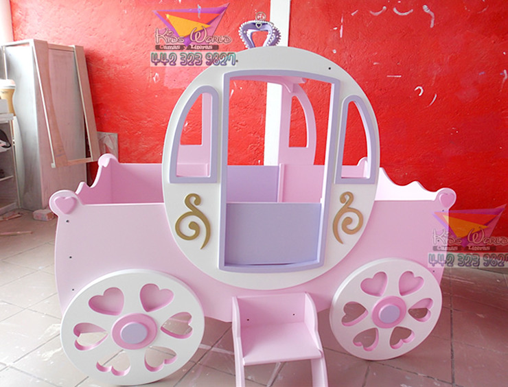 Bellisima carroza de camas y literas infantiles kids world Clásico
