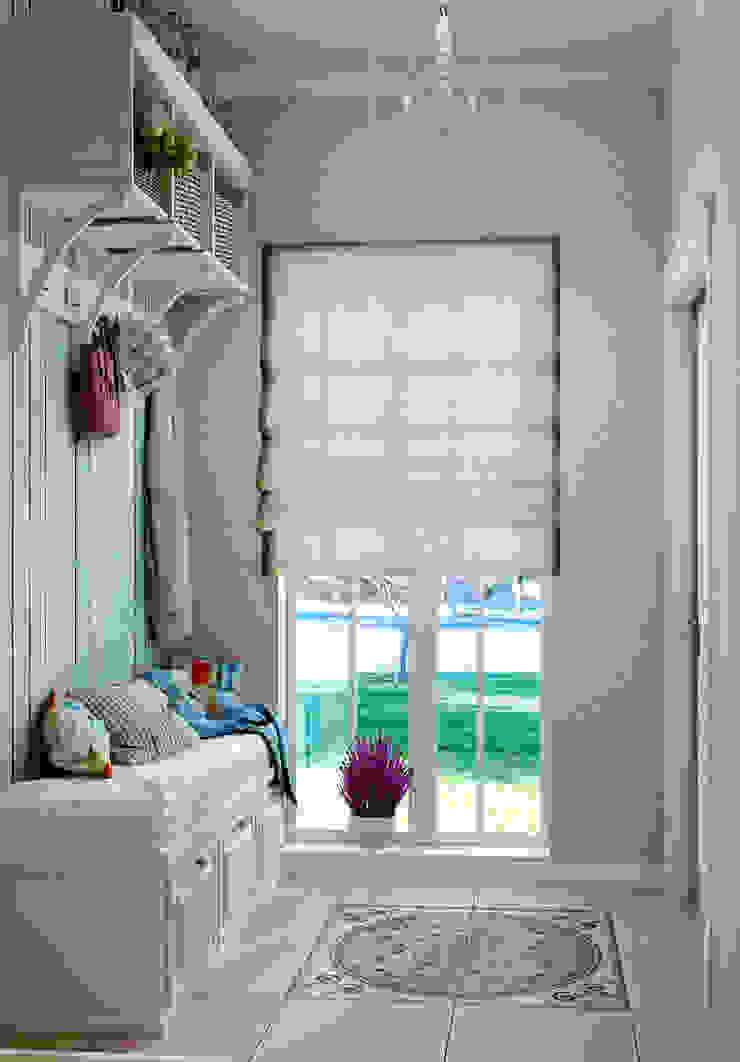 Прихожая в стиле современного прованса Коридор, прихожая и лестница в модерн стиле от Студия дизайна Interior Design IDEAS Модерн