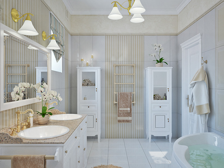 모던스타일 욕실 by Студия дизайна Interior Design IDEAS 모던