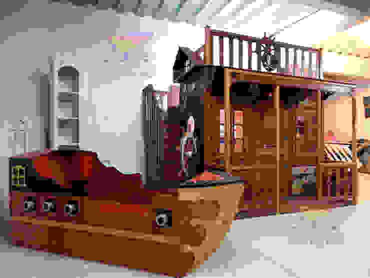 Fantásticas camas y literas infantiles de Kids Wolrd- Recamaras Literas y Muebles para niños Rústico