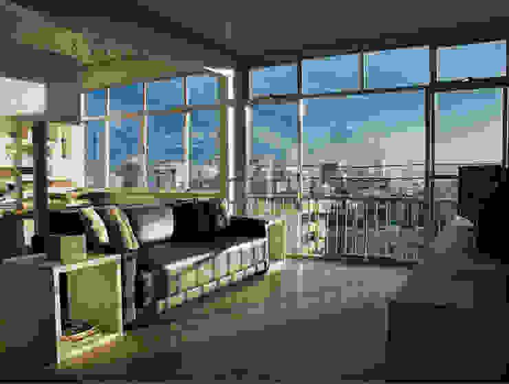 apartamento em Ipanema Margareth Salles Salas de estar modernas