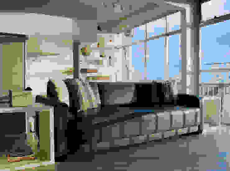 apartamento em Ipanema Salas de estar modernas por Margareth Salles Moderno