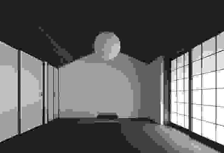 眺望の家 オリジナルスタイルの 寝室 の ろく設計室 オリジナル