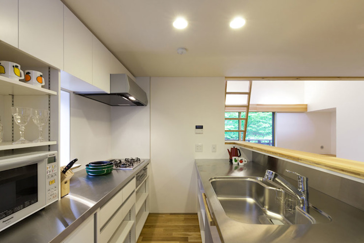 Eclectic style kitchen by 光風舎1級建築士事務所 Eclectic