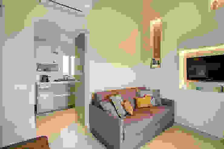 MOB ARCHITECTS غرفة المعيشة