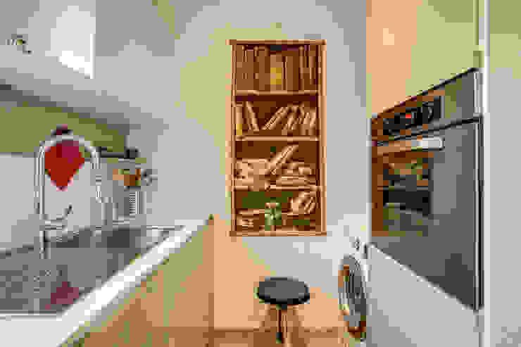مطبخ تنفيذ MOB ARCHITECTS