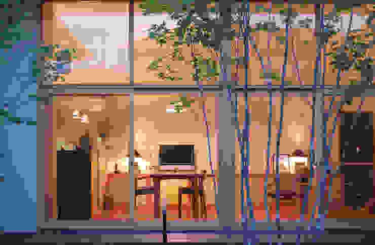 LIVING ROOM at night FURUKAWA DESIGN OFFICE Salones de estilo moderno