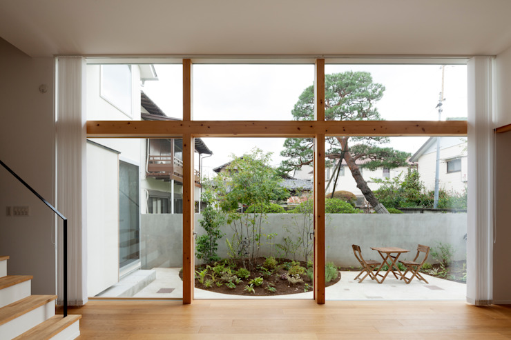 GARDEN from LIVING ROOM FURUKAWA DESIGN OFFICE Jardin moderne