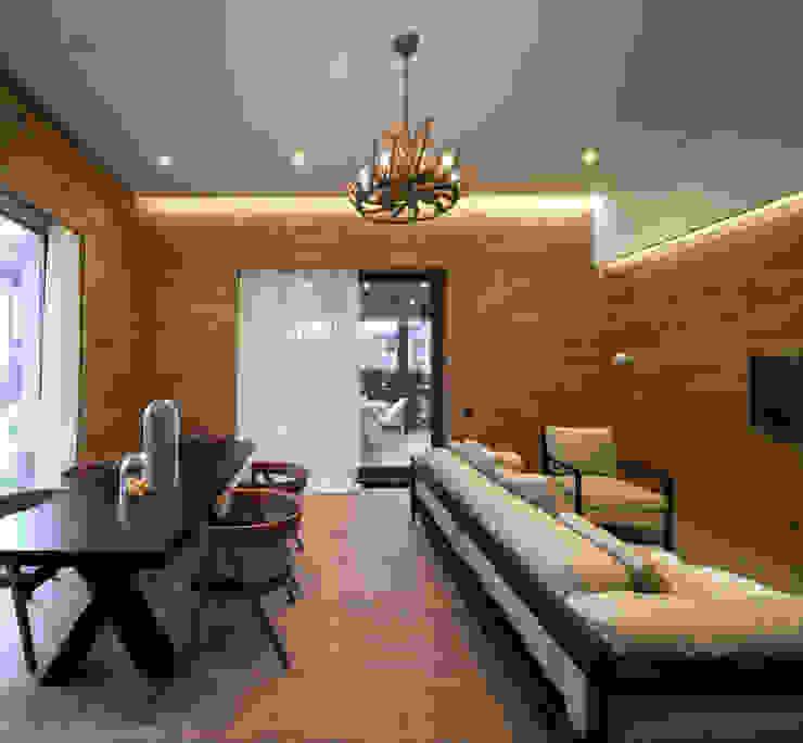 Salon original par MARTINarchitects Éclectique