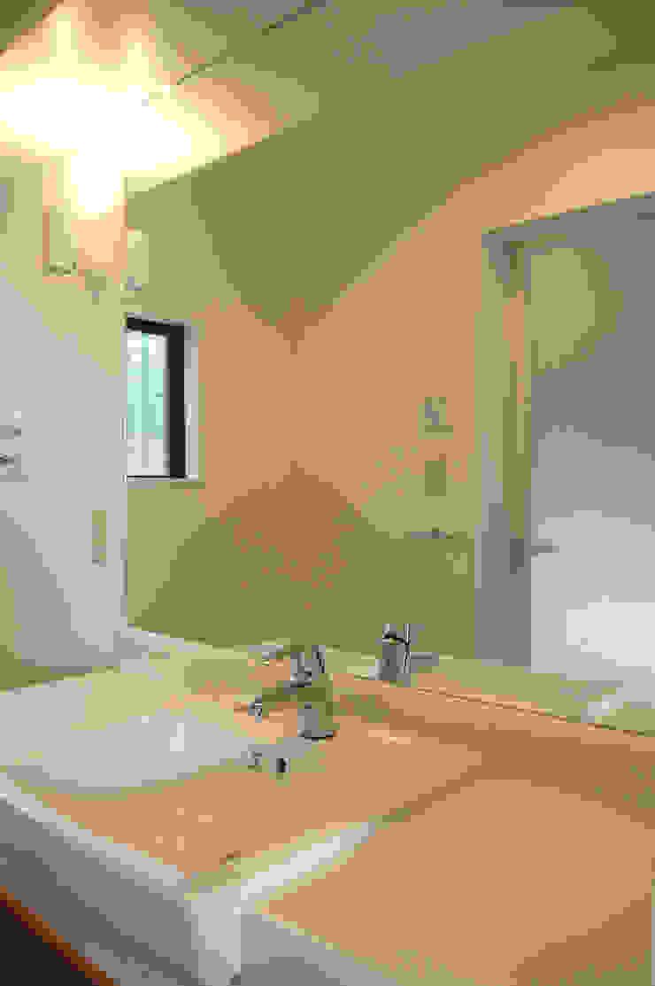 洗面所 モダンスタイルの お風呂 の FURUKAWA DESIGN OFFICE モダン