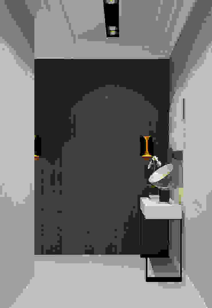 Дизайн-проект квартира Остоженка Коридор, прихожая и лестница в стиле минимализм от Projecto2 Минимализм