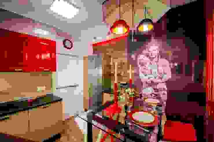 Кухня для влюбленных:  в современный. Автор – Сделано со вкусом на ТНТ, Модерн