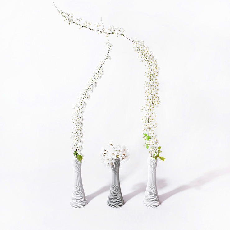Kindof Flower Vase: Kindof의 현대 ,모던