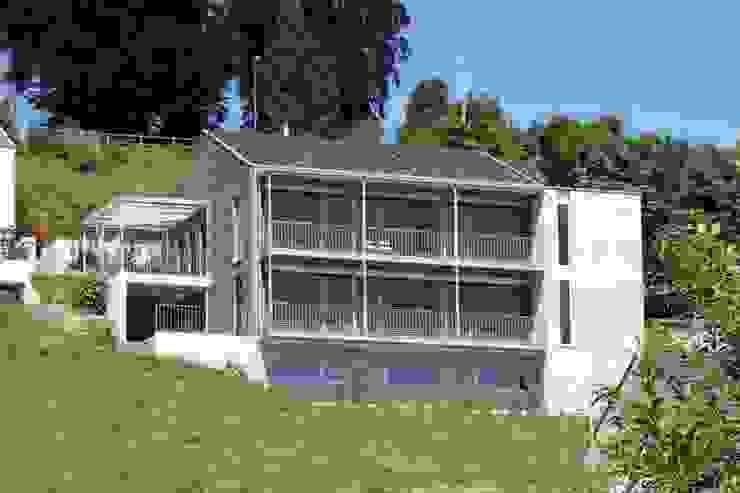 Einfamilienhaus als Passivhaus Moderne Häuser von RAB Rutz + Bänziger Architekten Modern