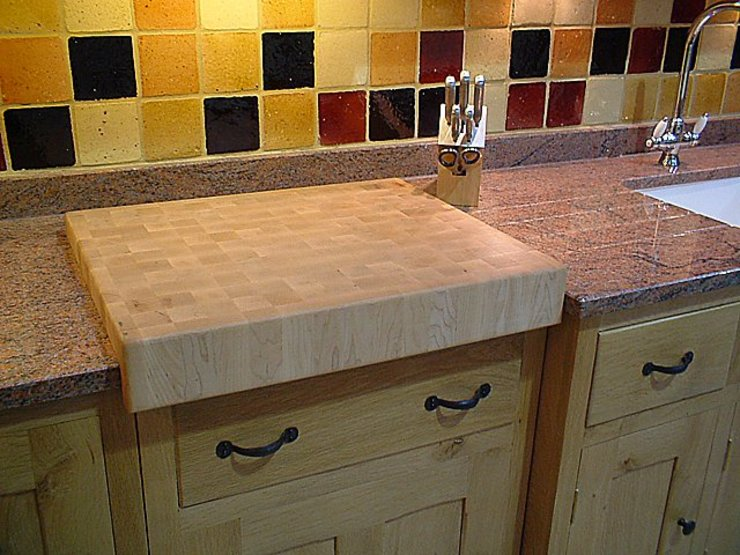 Maple chopping board Bordercraft KitchenBench tops