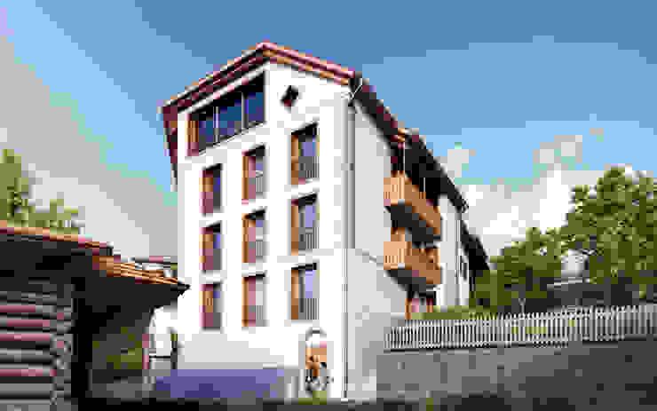 Rumah Gaya Rustic Oleh von Mann Architektur GmbH Rustic