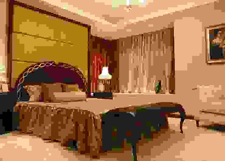 White & Black Design Studio Ausgefallene Schlafzimmer