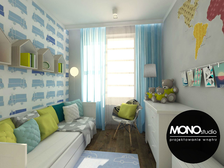 Dormitorios infantiles modernos: de MONOstudio Moderno