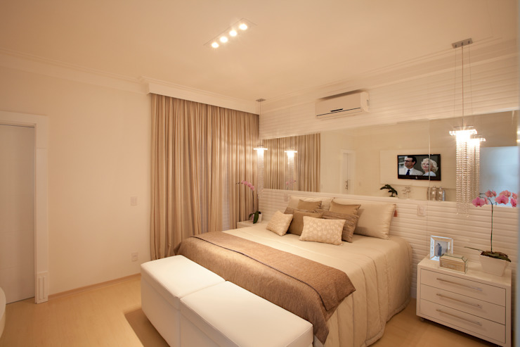Dormitorios modernos de Arquiteto Aquiles Nícolas Kílaris Moderno
