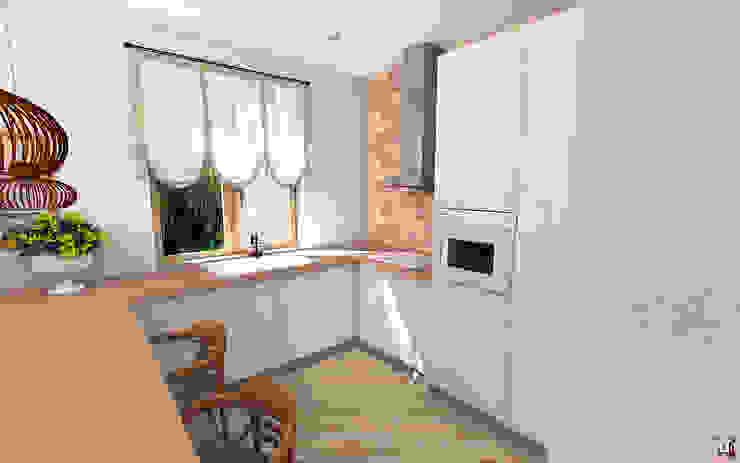 Квартира в Южном городе Кухня в стиле модерн от A.workshop Модерн