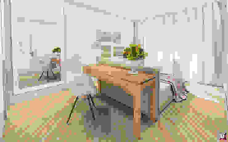 Dormitorios de estilo moderno de A.workshop Moderno