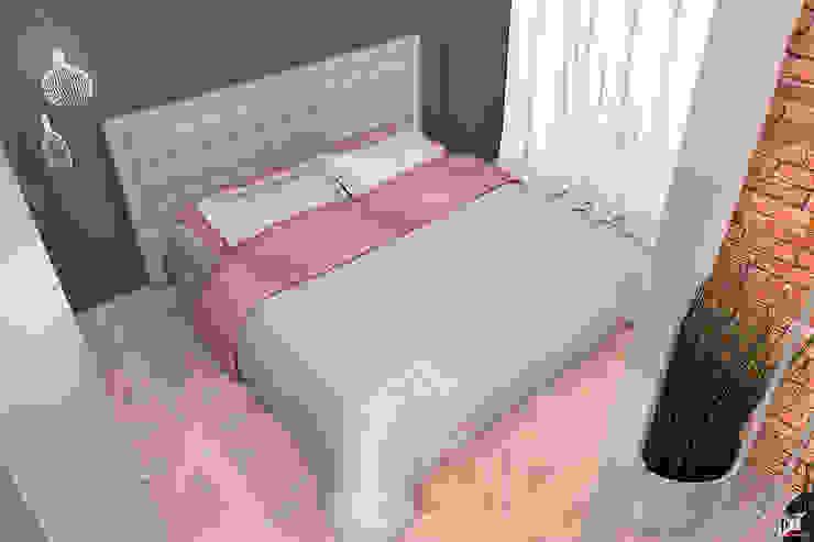 Квартира на ул. Полевая Спальня в стиле лофт от A.workshop Лофт